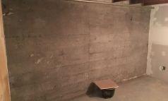 Nettoyage de béton intérieur