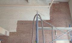 Décapage brique intérieur
