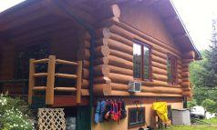 Clé en main sur bois rond, décapage et restauration